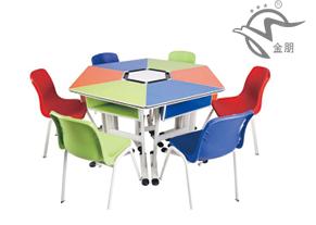 校用课桌椅、金朋