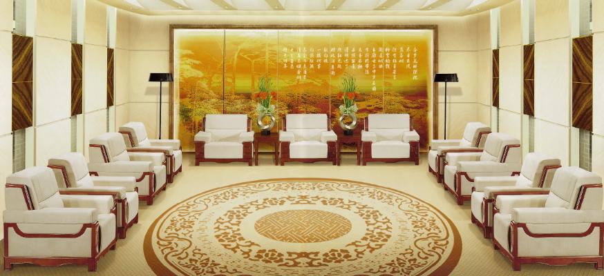 传统办公沙发
